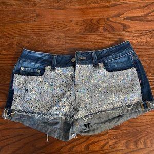 Victoria Secret PINK sequin shorts